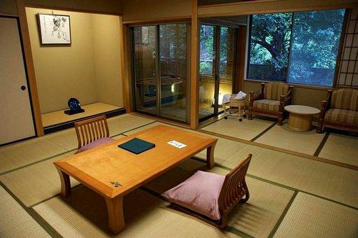 Ryokan on perinteinen majapaikka.