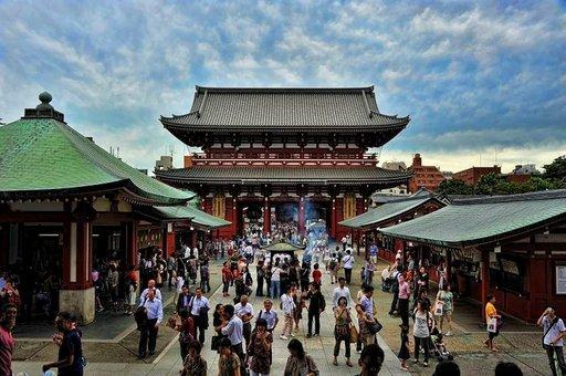 Sensoji kuuluu Tokion tunnistettavimpiin ja ikonisimpiin temppelikohteisiin.