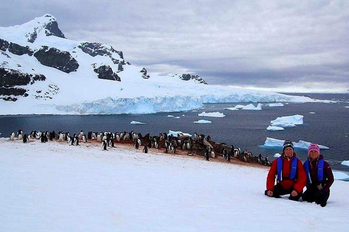 Matka maapallon ympäri - Kohokohtana Antarktis