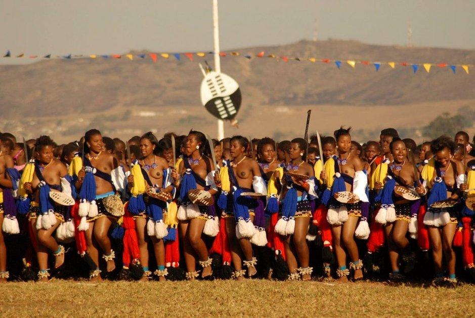 Umhlanga eli Reed Dance on perinteinen nuorten tyttöjen riitti Swazimaassa.