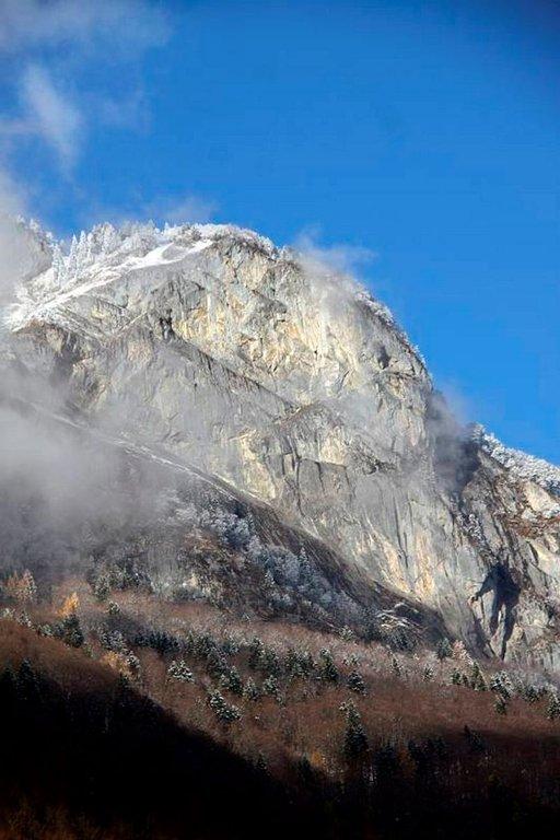Sargans-vuoret ovat Unescon maailmanperintökohde.