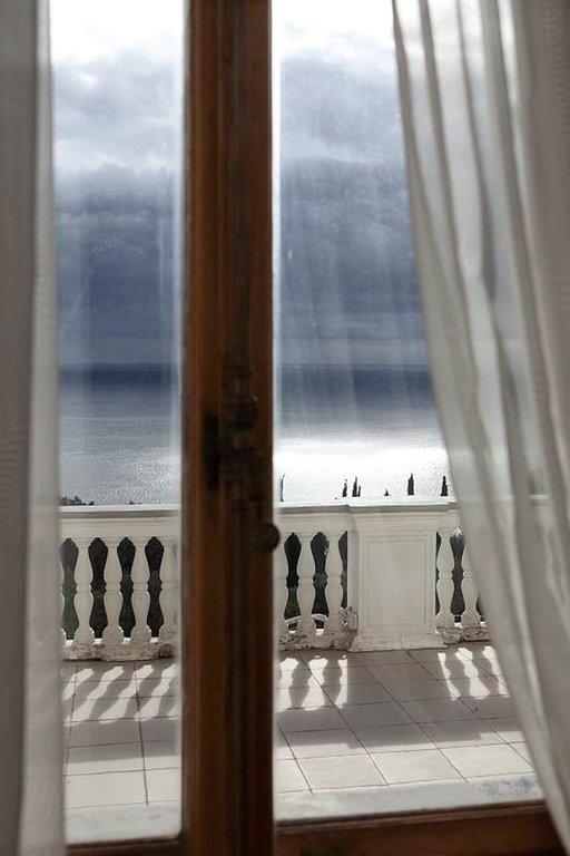 Näkymä merelle Livadian palatsista.
