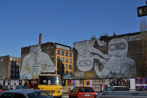 Kreuzberg on katuruoka-<br /> reissaajan kaupunginosa