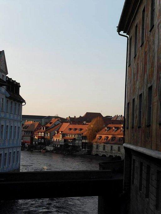Kleine Venedig - Pikku Venetsia on viehättävä kalastajakortteli Regnitz-joen alajuoksulla.