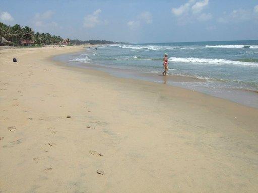Mamallapuramin rannalla on vielä tilaa.