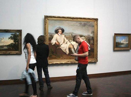 Johann Worlfgang von Goethen kotimuseo sijaitsee Frankfurtin keskustassa