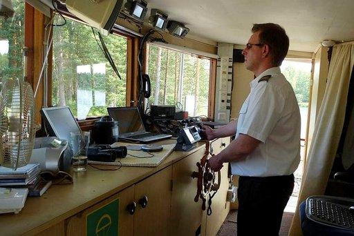 Kari Vänttinen on Saimaan sisävesikippari jo neljännessä polvessa.