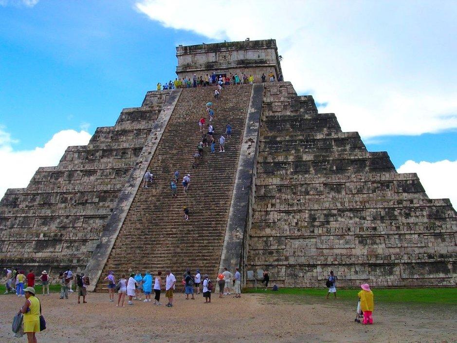 Chichen Itza on Meksikon kuuluisin Maya-temppeli. Kuva: Daniel Stöckli