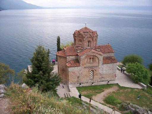 Jovan Kaneo on yksi Makedonian upeista uskonnollisista nähtävyyksistä.