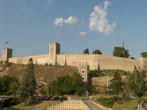 Skopjen Kalen linnoitus on yksi sen merkittävimmistä tunnusmerkeistä