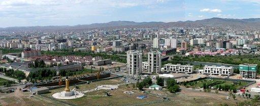Ulan Bator on nykyään iso metropoli.
