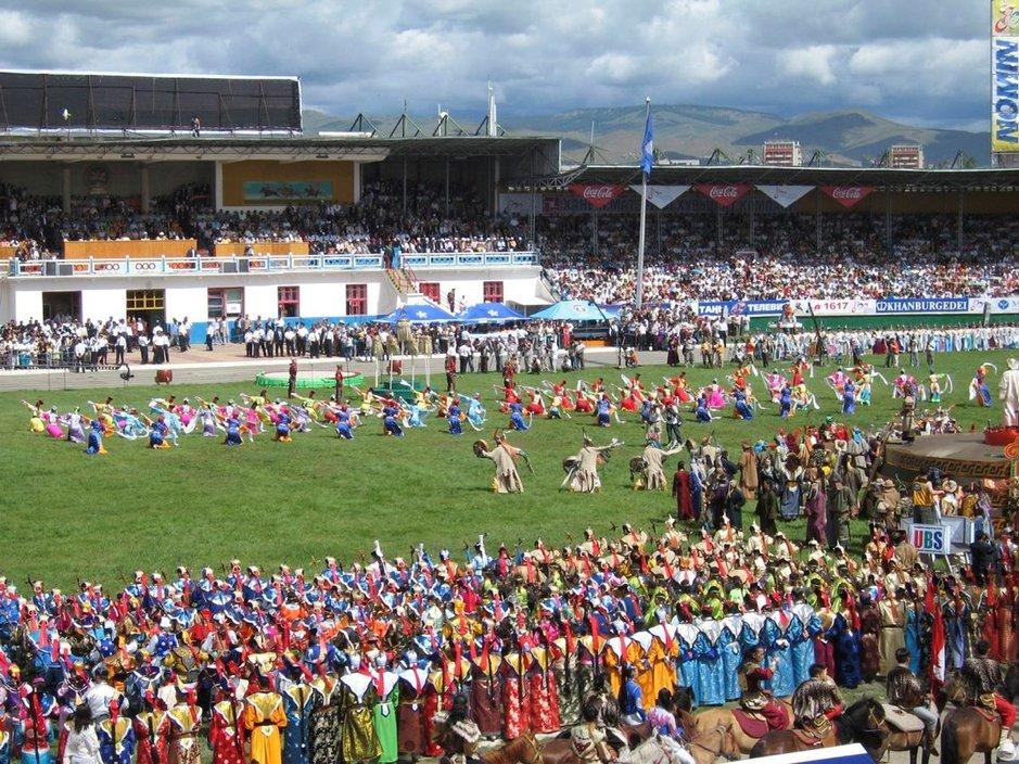 Naadam on Mongolian merkittävin juhla.