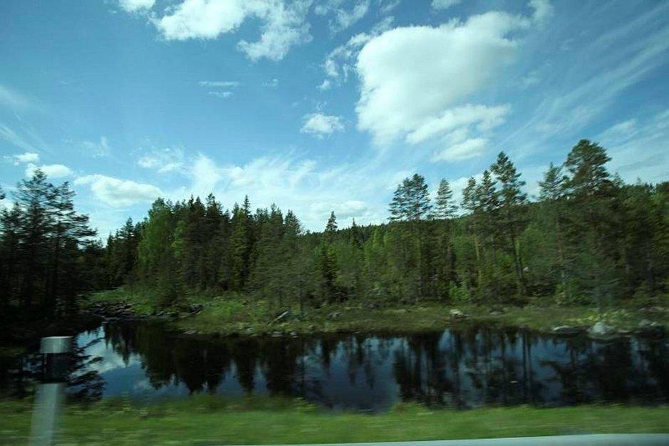 Näihin maisemiin tulivat tuhannet suomalaiset asumaan.