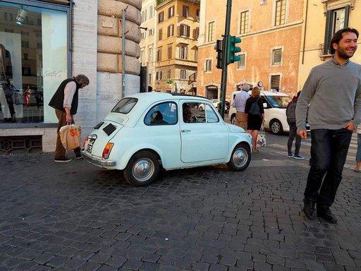 Historiallinen Rooma yllättää.