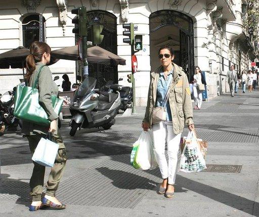 Serrano on ehdoton shoppailukatu.