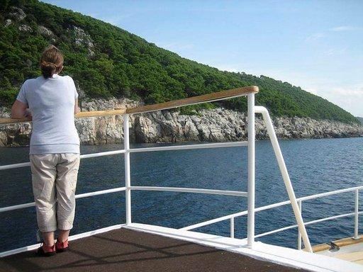Pienellä aluksella päästään lähelle luontoa.