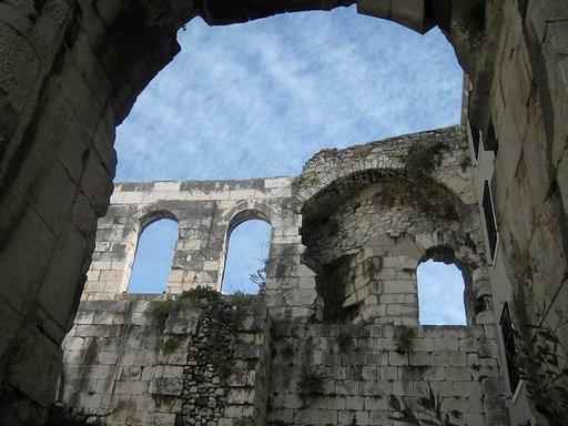 Roomalaisetkin viihtyivät Splitissä.