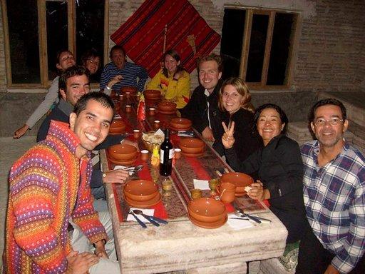 Uyunin jeeppiretkellä ryhmämme koostui saksalaisista, brasilialaisista, italialaisista ja espanjalaisista reissaajista.
