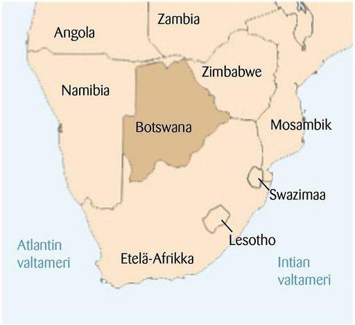 Minun Afrikkani<br /> Botswana