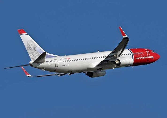 Norjalainen Norwegian<br /> jatkaa kasvuaan
