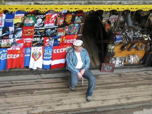 Izmailovon markkinoilta etsivä löytää paljon neuvostoaikaista esineistöä.