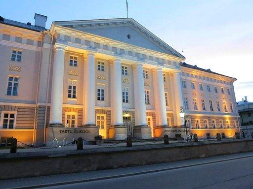 Tarton yliopiston päärakennus.