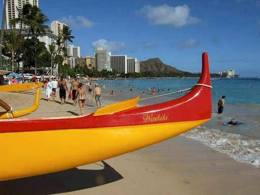 Lainelautailu, tulivuoret ja shoppailu ovat Havaijin merkkituotteita. Aloha!