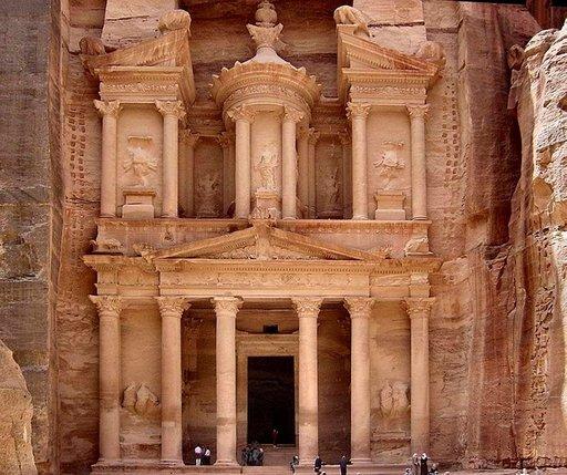 Petran Al Khazneh on yksi maailman merkittävimmistä arkeologisista kohteista.