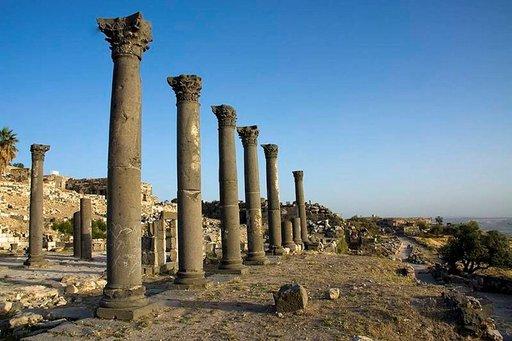 Jordaniassa on lukematon määrä antiikinaikaista arkkitehtuuria.