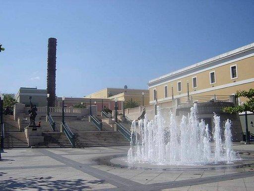 Vanhaa San Juanin kaupunginosaa.