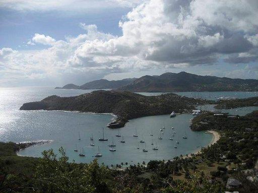 Antigua on tarjonnut turvasataman. Atlantin ylittäjille vuosisatojen ajan.