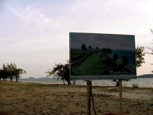 Otresin toistaiseksi tyhjille rannoille on suunnitelmissa matkailukeskittymiä.