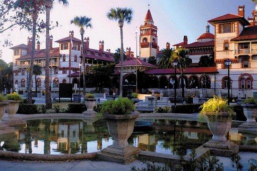 Flagler rakennettiin vuonna 1888. Campus on yksi St. Augustinen suosituimmista vierailukohteista.