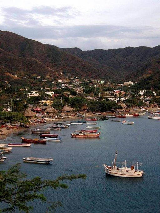 Kalastus on tärkeä elinkeino Tagangassa.