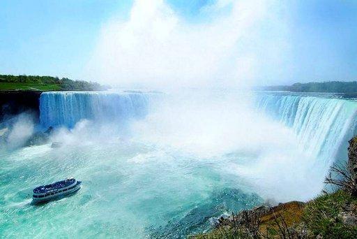 Niagaran putoukset.