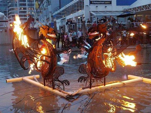 Harbourfront-festivaali esittelee luovaa taidetta.