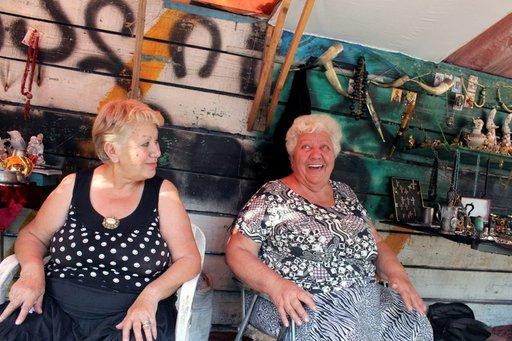 Nauravaiset ja arvonsa tuntevat gruusialaisnaiset ovat kokeneet maan muuttuvan itsenäiseksi valtioksi.