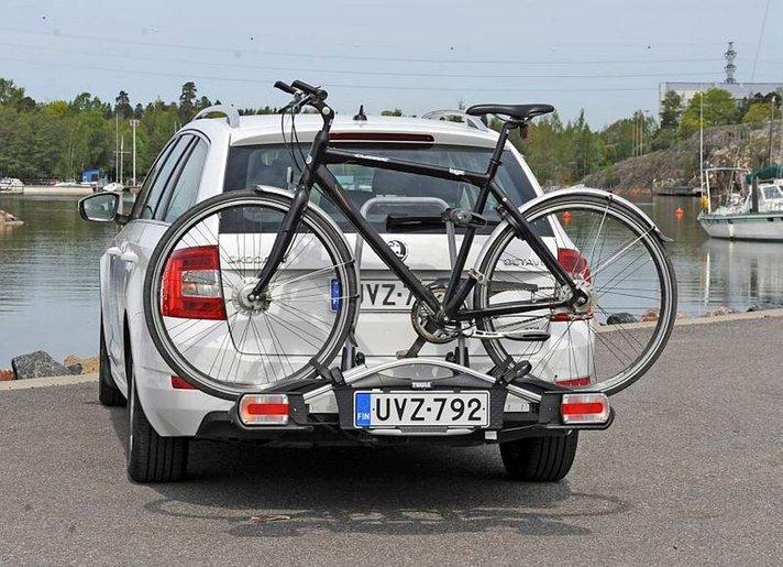 Kuljeta polkupyörä autolla turvallisesti