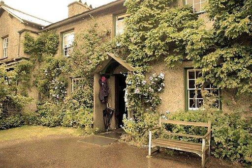 Beatrix Potterin koti Englannin Lake Districtissä.