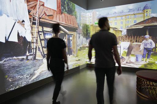 Huhtikuussa 2019 kaupunginmuseossa avataan virtuaalielämys Aikakoneen uusi versio 2.0. Aikakoneessa Signe Branderin sadan vuoden takaiset valokuvat heräävät eloon uuden teknologian avulla. Kuva: Maija Astikainen.