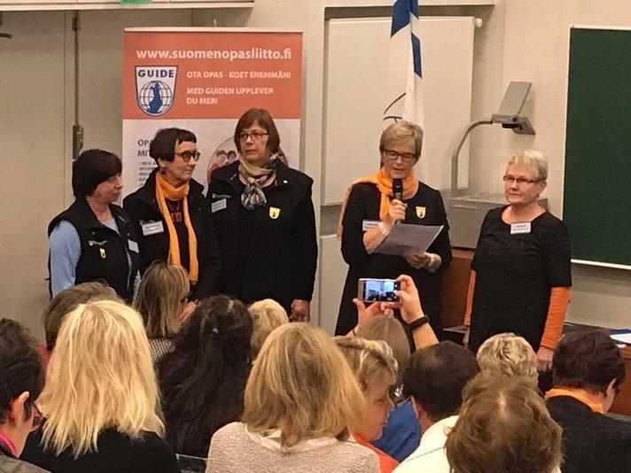 Oulun seudun oppaat<br /> on vuoden opasyhdistys Helsinki