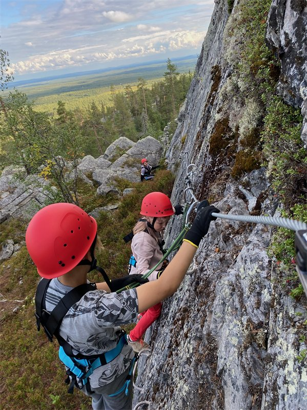 Kallioseikkailupuisto<br /> avattiin Pyhätunturille