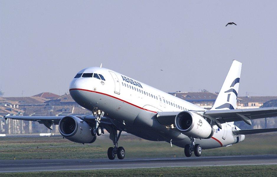 Eagean Air lentää Helsinkiin kaksi kertaa viikossa.