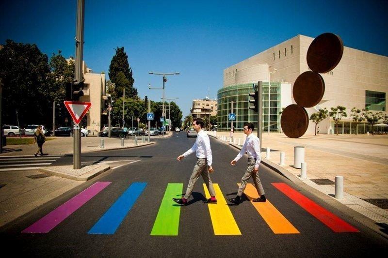 Israel on yllättäen noussut pridekansan suosioon.