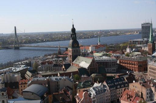 Pyhä Pietarin kirkon tornista näkymät ovat huikeat