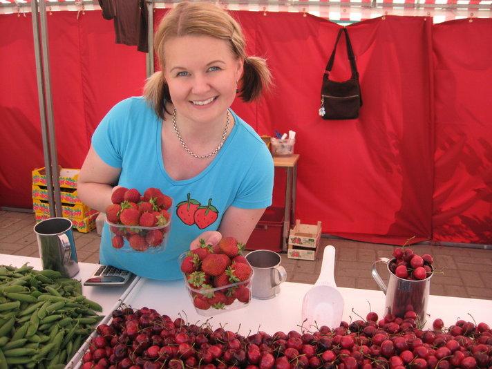 Rovaniemi avaa kesän<br /> kauppatorin lauantaina