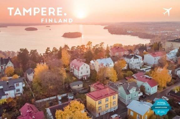 Tampereen lentoliikennemarkkinointi<br /> sai kansainvälistä tunnustusta