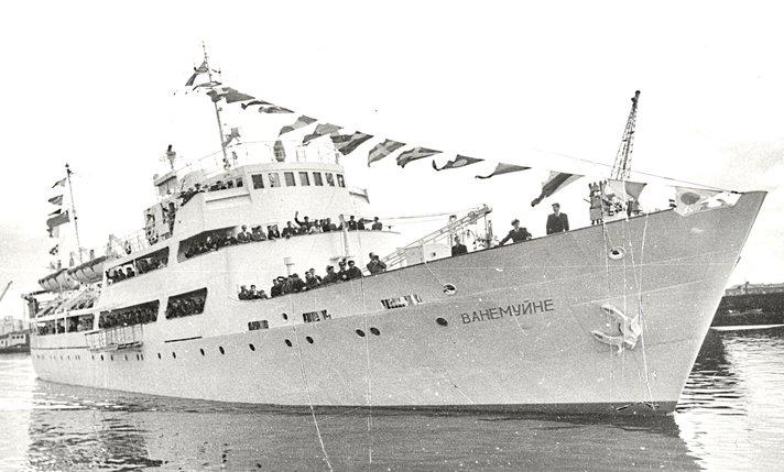 Helsinki-Tallinna-laivareitti<br /> t&auml;ytt&auml;&auml; 50 vuotta