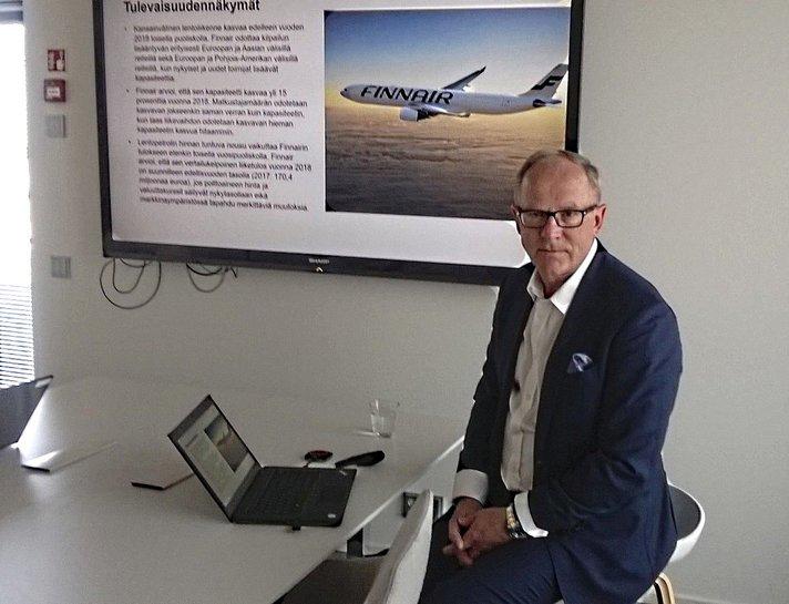 Enn&auml;tykset paukkuvat &ndash; Vauramon<br /> viimeiset kuukaudet Finnairissa haastavia