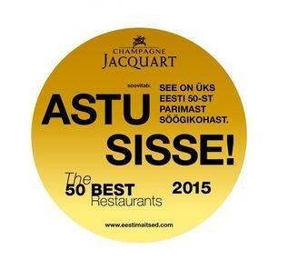 Viron 50 parasta ravintolaa listattu